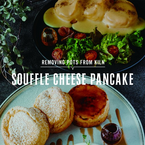 WINTER CAFE MENU -vol.1- SOUFFLE CHEESE PANCAKE